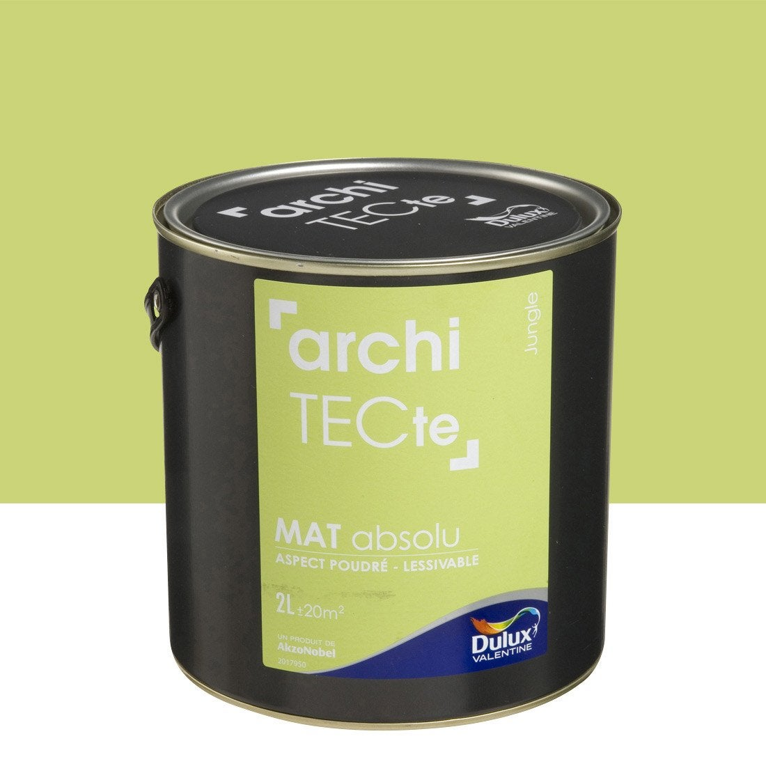 peinture vert jungle dulux architecte 2 l leroy merlin