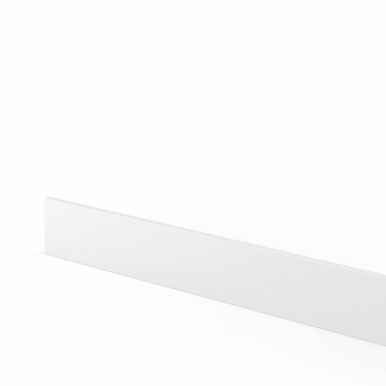 Plinthe de cuisine blanc d lice l 270 x h 15 cm leroy merlin - Plinthe meuble cuisine leroy merlin ...