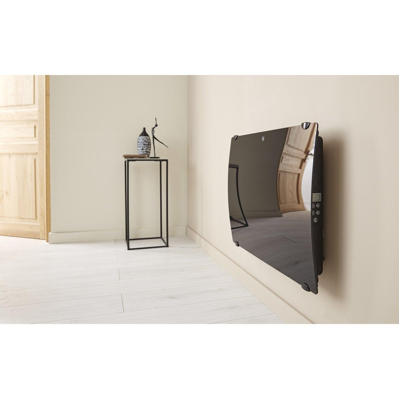 radiateur lectrique rayonnement deltathermie verre. Black Bedroom Furniture Sets. Home Design Ideas