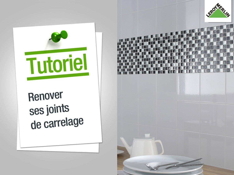Comment Rénover Ses Joints De Carrelage Leroy Merlin - Comment renover une salle de bain