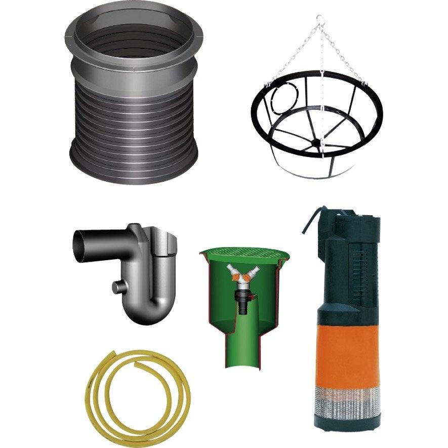 Pack accessoires pour cuve lilo 201315 garantia leroy merlin - Cuve a eau leroy merlin ...