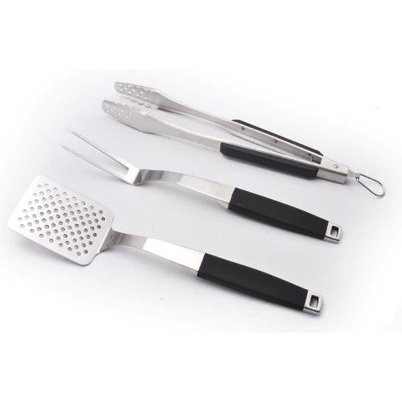 Set d 39 accessoires de cuisson acier naterial leroy merlin - Table de cuisson leroy merlin ...