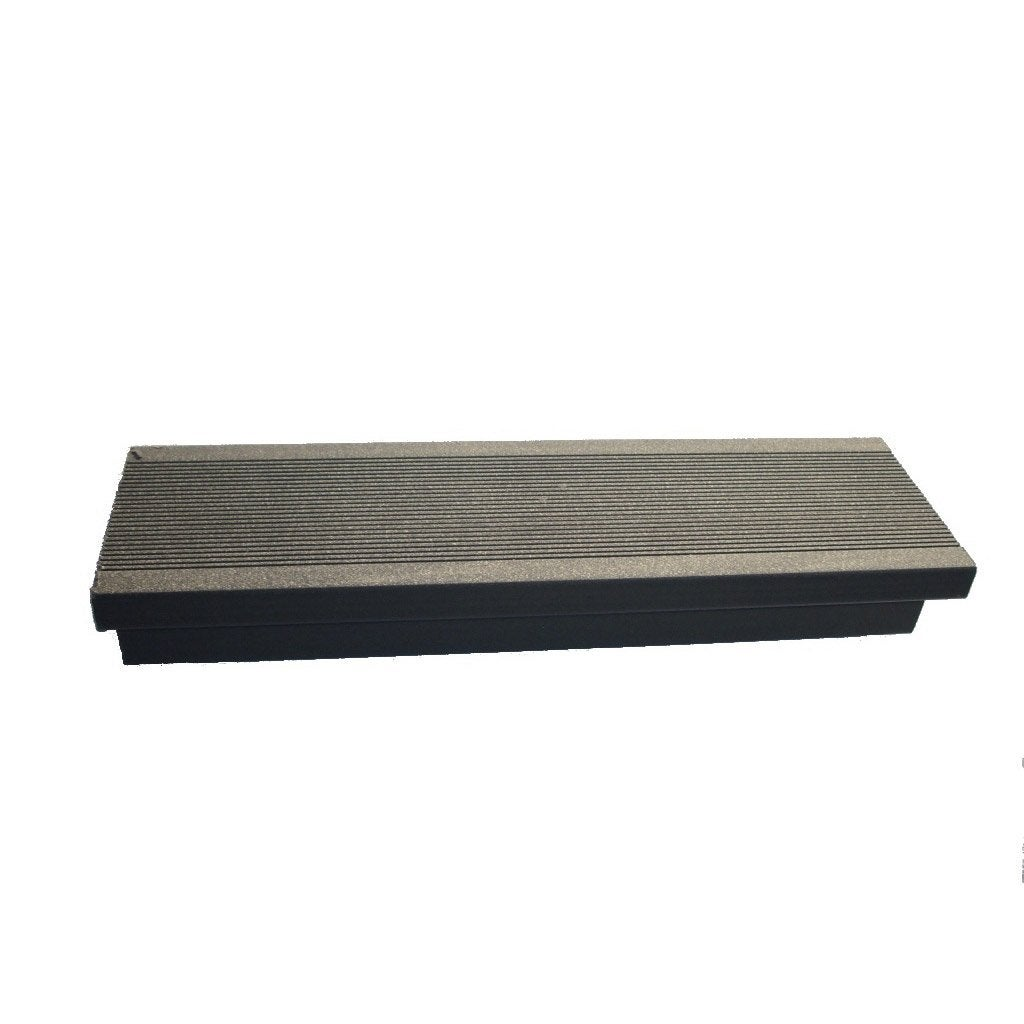 margelle composite gris anthracite terrasse premiuml 2 4 x l m leroy merlin. Black Bedroom Furniture Sets. Home Design Ideas