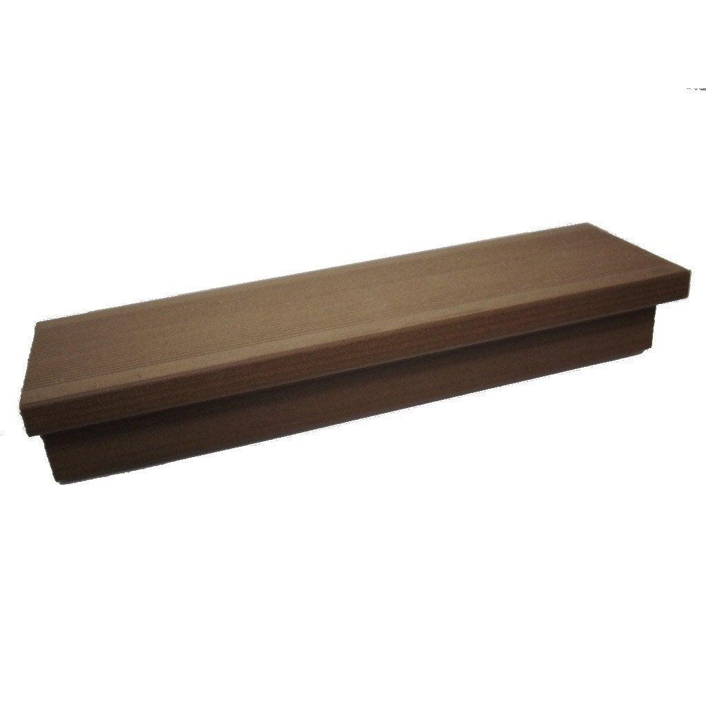 Margelle composite havane brun clair terrasse premiuml 2 4 - Composite leroy merlin ...