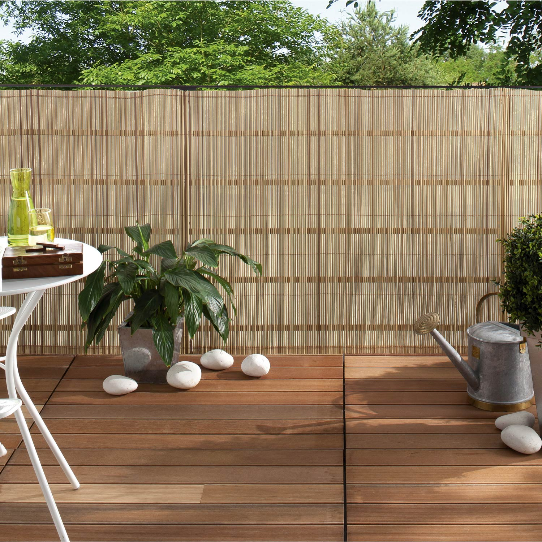 canisse sans attache nortene exel roseau x cm. Black Bedroom Furniture Sets. Home Design Ideas