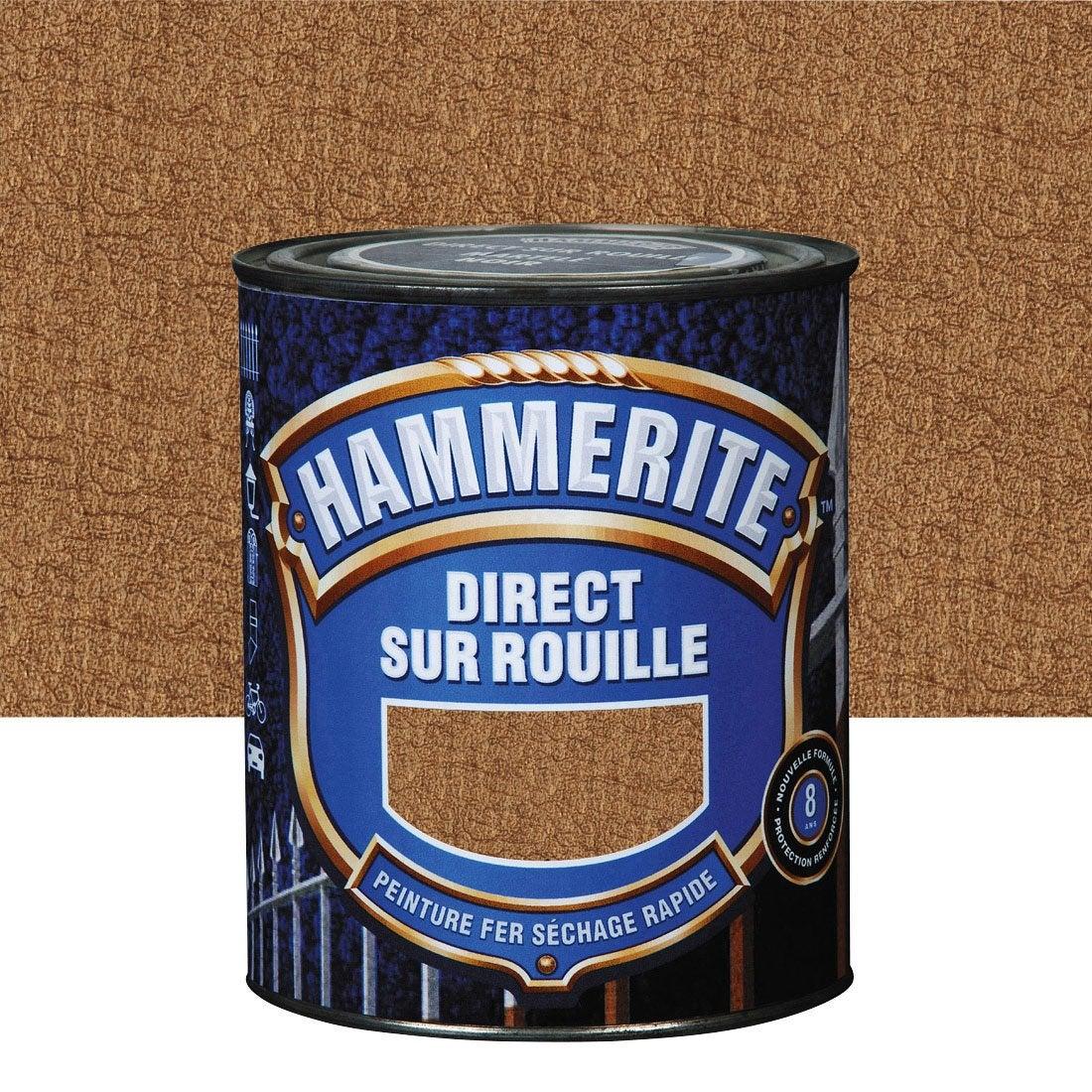 Peinture fer ext rieur hammerite cuivre l leroy merlin - Leroy merlin peinture fer ...