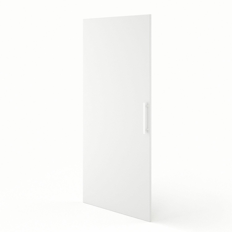 Porte 1 2 colonne de cuisine blanc d lice x cm for Porte 60 x 180