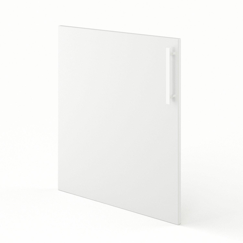 Porte de cuisine blanc f60 d lice l60 x h70 cm leroy merlin for Porte de 60 cm