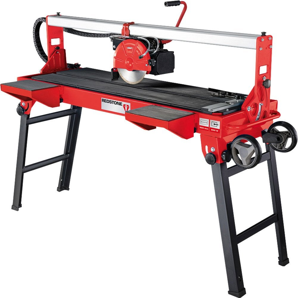 Scie de carrelage electrique radiale redstone 900 w for Machine a couper le carrelage