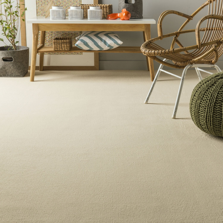moquette velours diapason aero beige 4 m leroy merlin. Black Bedroom Furniture Sets. Home Design Ideas