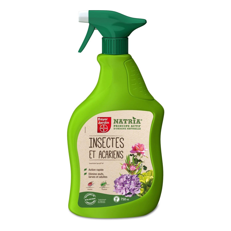 traitement des insectes plantes fleuries natria 750 ml leroy merlin. Black Bedroom Furniture Sets. Home Design Ideas
