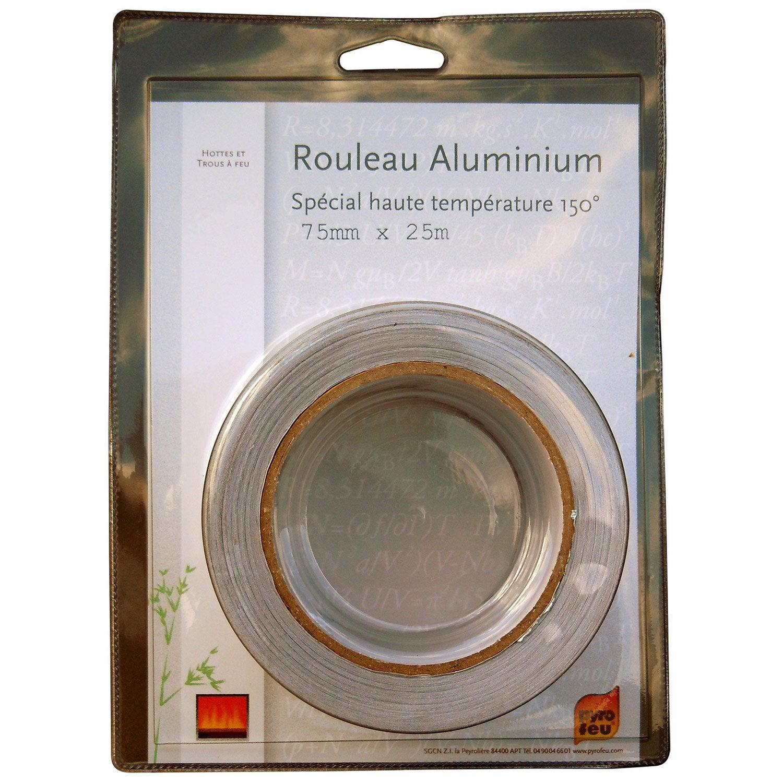 ruban adh sif aluminium 10 m pyrofeu resine de protection pour peinture. Black Bedroom Furniture Sets. Home Design Ideas