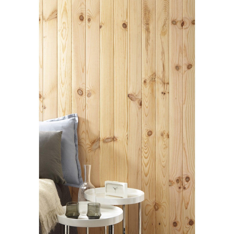 lambris pin rabot brut x cm mm leroy. Black Bedroom Furniture Sets. Home Design Ideas