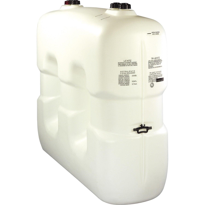 R cup rateur d 39 eau garantia cuve slim cylindrique 650l - Recuperateur eau de pluie leroy merlin ...