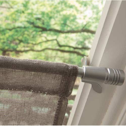 tringle rideaux barre rail et c ble d coration et clairage leroy merlin. Black Bedroom Furniture Sets. Home Design Ideas