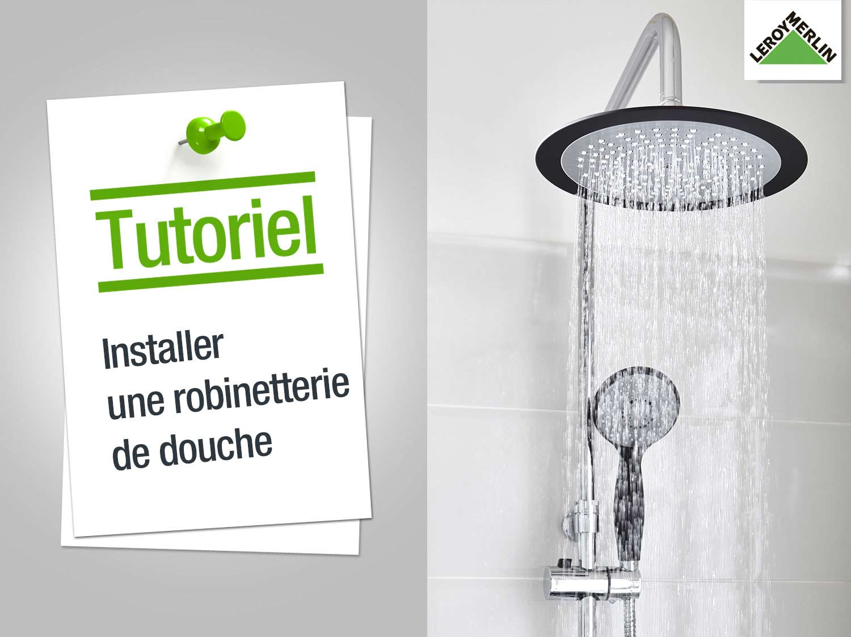 Sige douche leroy merlin gallery of attractive salle de - Comment installer un rideau de douche ...