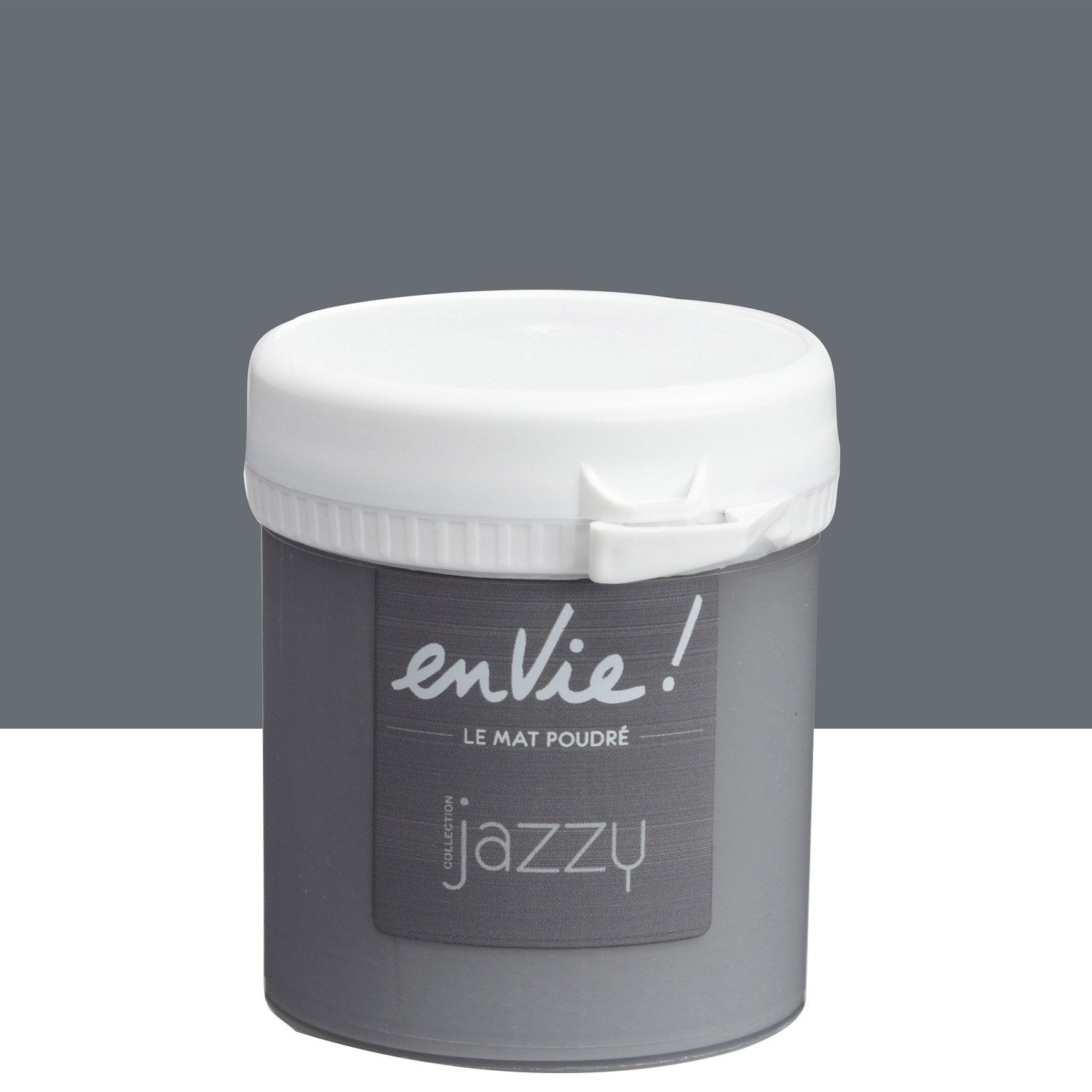 Testeur peinture gris club luxens envie collection jazzy 0 for Club leroy merlin