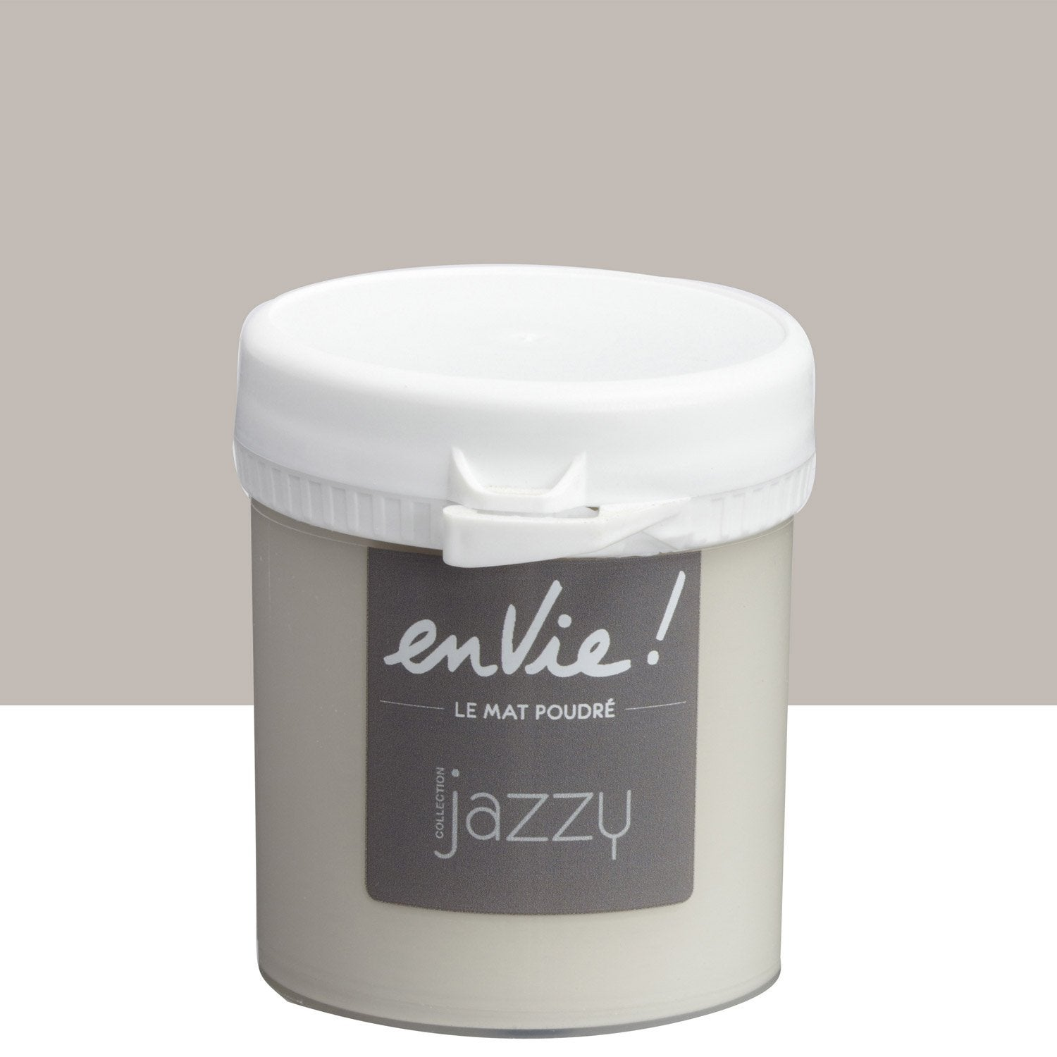 Testeur peinture gris smart luxens envie collection jazzy l leroy merlin - Peinture envie leroy merlin ...