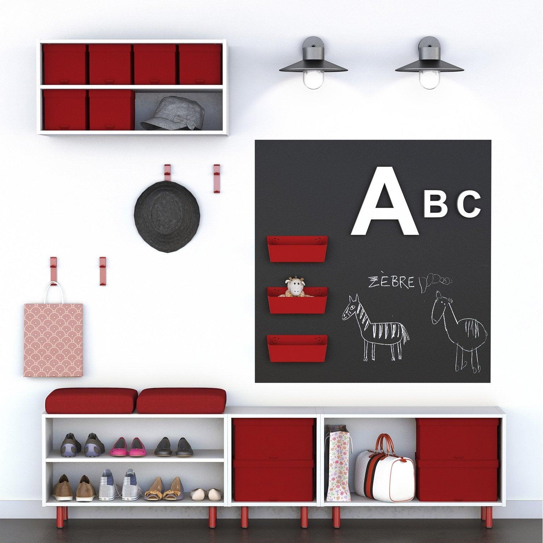 banc spaceo home blanc leroy merlin. Black Bedroom Furniture Sets. Home Design Ideas