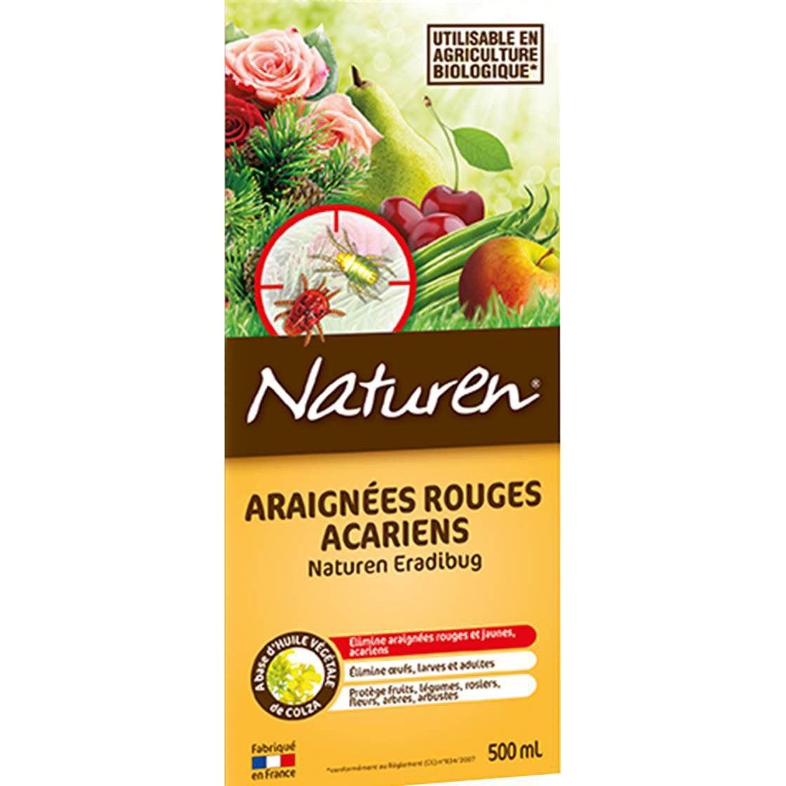 Traitement des insectes acariens naturen 500 ml leroy - Acarien de cuisine ...