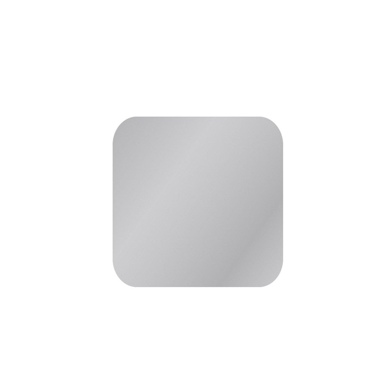 Miroir non lumineux d coup carr avec coins arrondis for Miroir largeur 40 cm