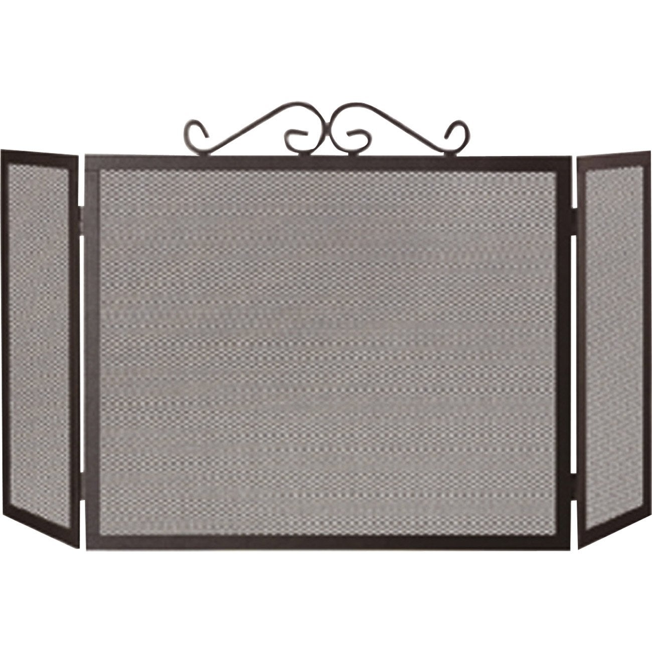 pare feu en fer delta quartz 3 volets x cm leroy merlin. Black Bedroom Furniture Sets. Home Design Ideas