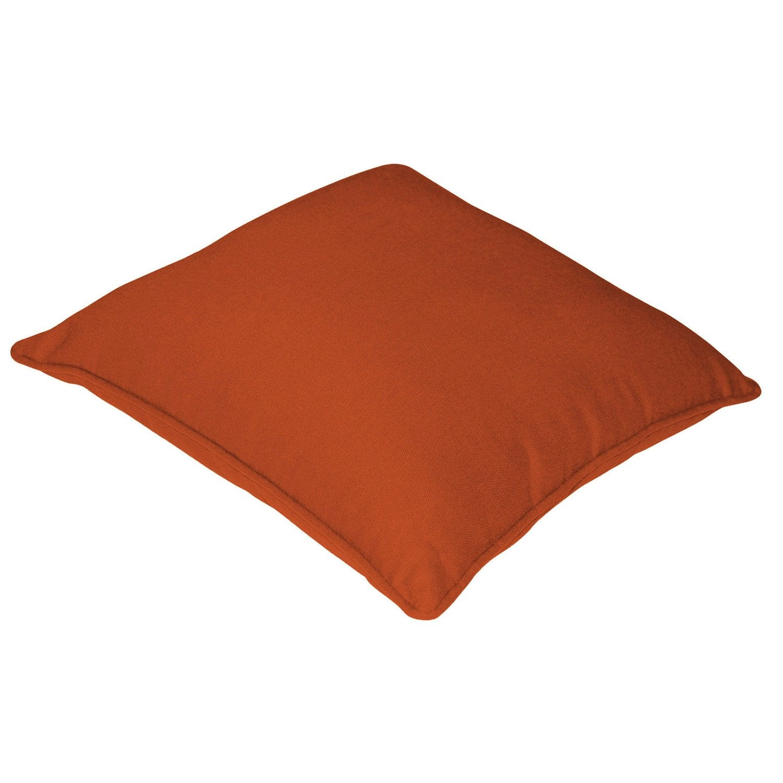 housse de coussin cl a inspire orange orange n 3 x. Black Bedroom Furniture Sets. Home Design Ideas