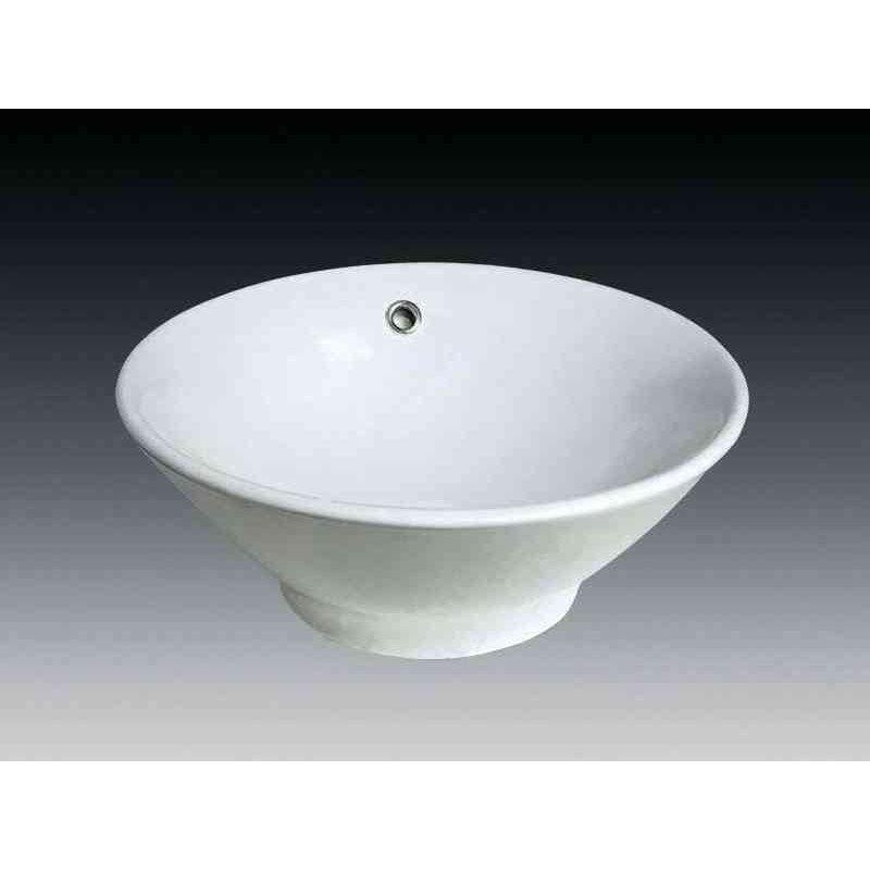 vasque poser nepal en c ramique 46 x 46 cm leroy merlin. Black Bedroom Furniture Sets. Home Design Ideas