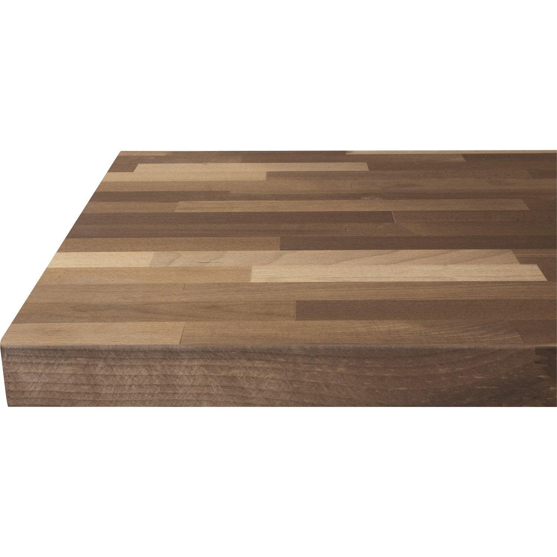 Plan de travail en pin meuble cuisine pour studio pin central de cuisine plan de travail style - Plan de travail chene brut ...