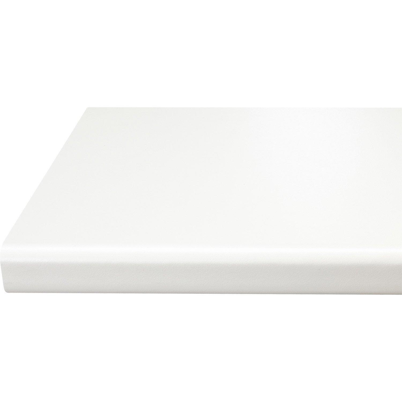 Chant de plan de travail blanc 450 x 4 5 cm leroy merlin - Plan de travail chez leroy merlin ...