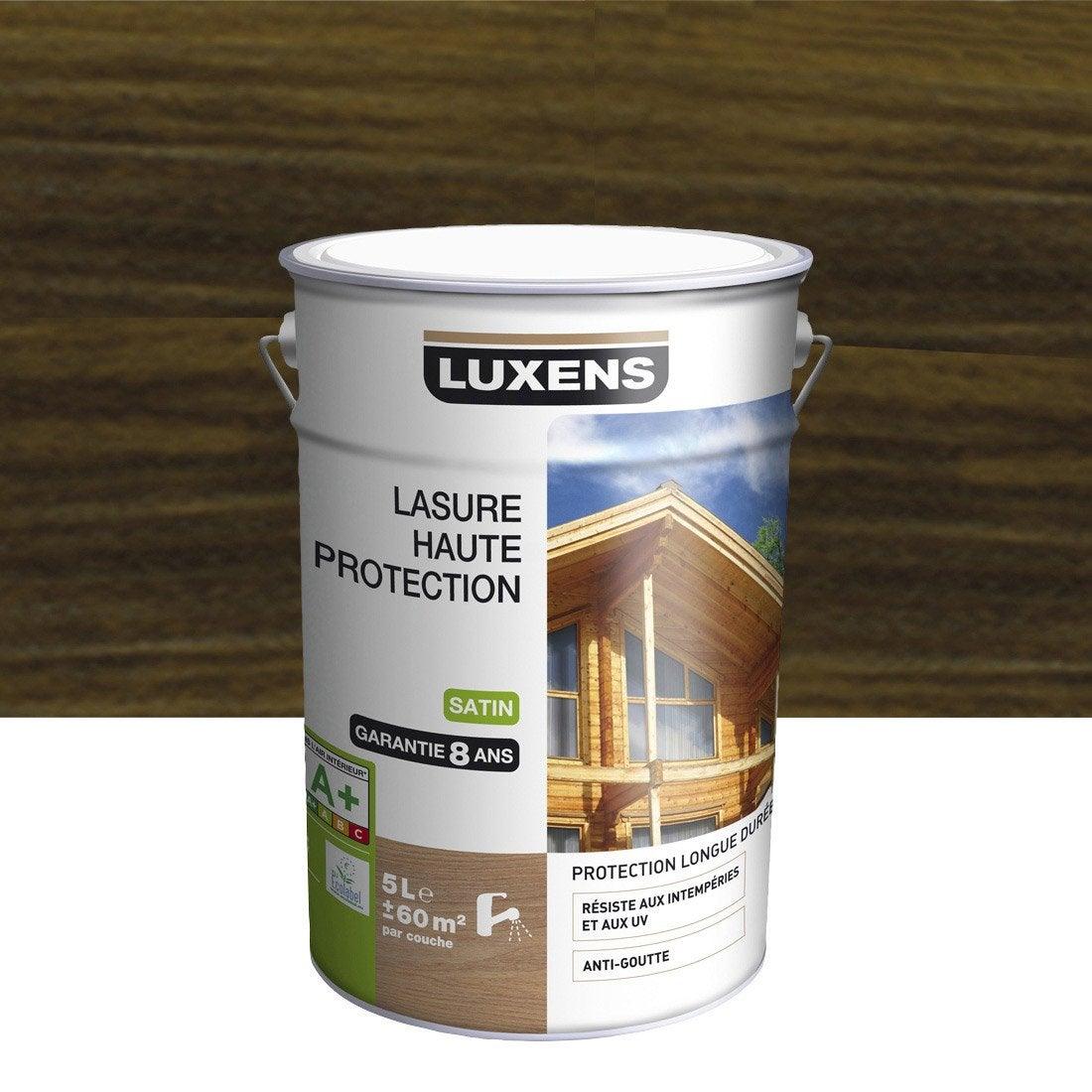 Lasure luxens haute protection 5 l weng leroy merlin - Lasure leroy merlin ...