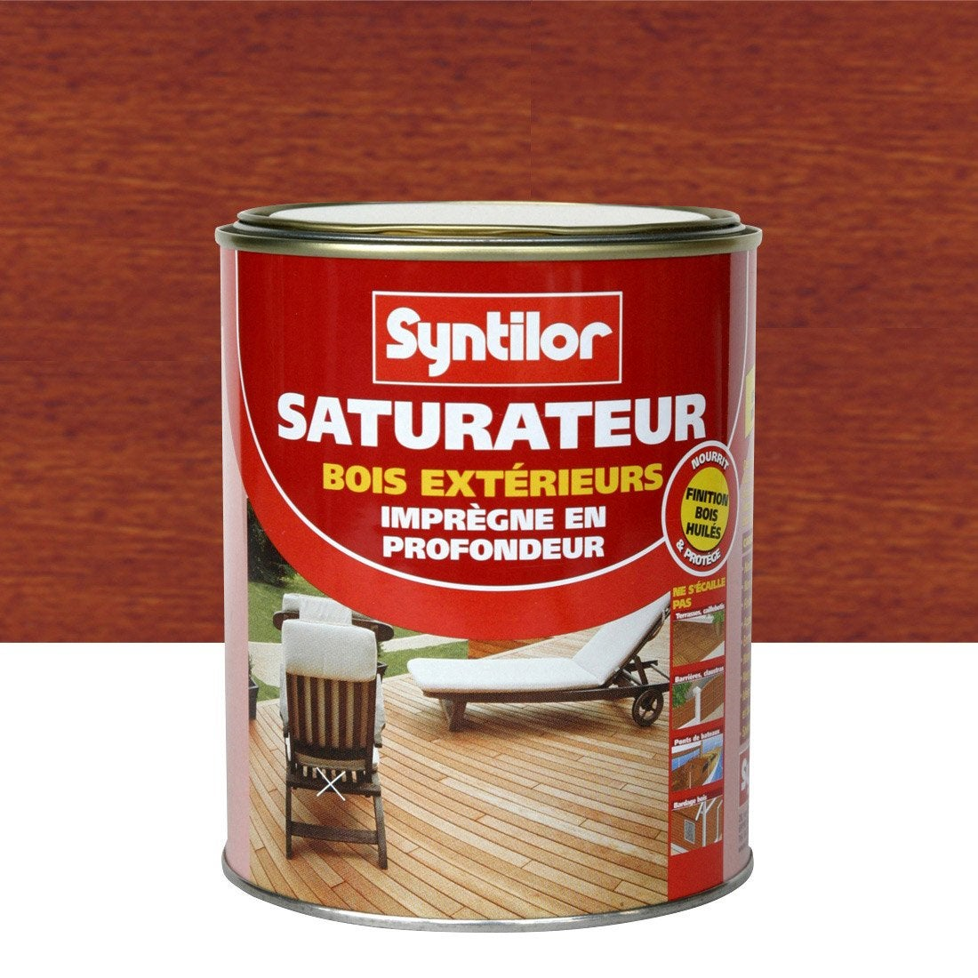 Saturateur SYNTILOR 1 l, bois exotique Leroy Merlin # Saturateur Bois Leroy Merlin