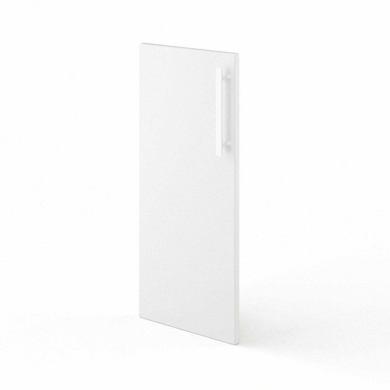 Porte de cuisine blanc f30 d lice l30 x h70 cm leroy merlin for Porte cuisine 60 x 30