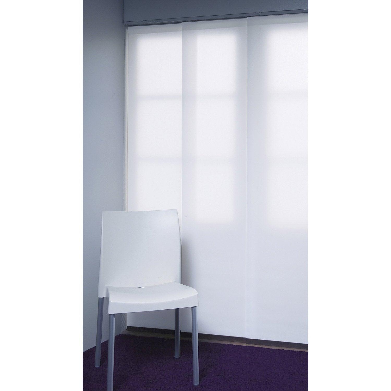 panneau japonais inspire blanc 250 x 50 cm leroy merlin. Black Bedroom Furniture Sets. Home Design Ideas