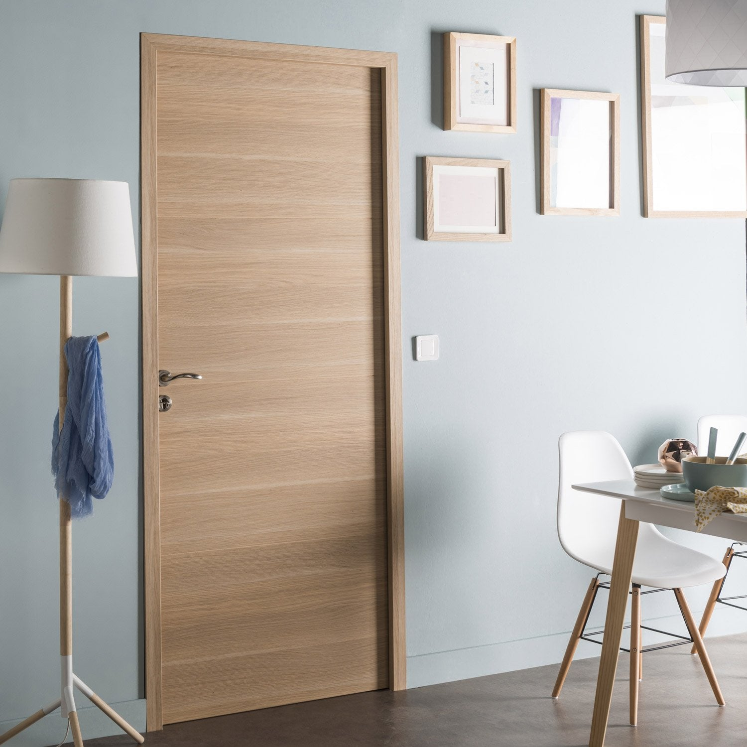 Bloc porte rev tu madrid 2 artens x cm - Porte interieur point p ...