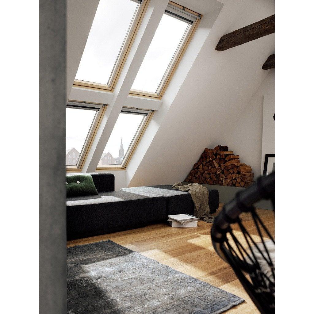 Velux ggl mk04 confort integra ouverture par rotation - Fenetre de toit velux 78 x 98 ...