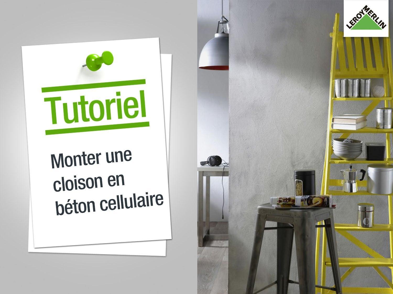 Faire un placard en beton cellulaire at84 jornalagora for Monter une cuisine leroy merlin
