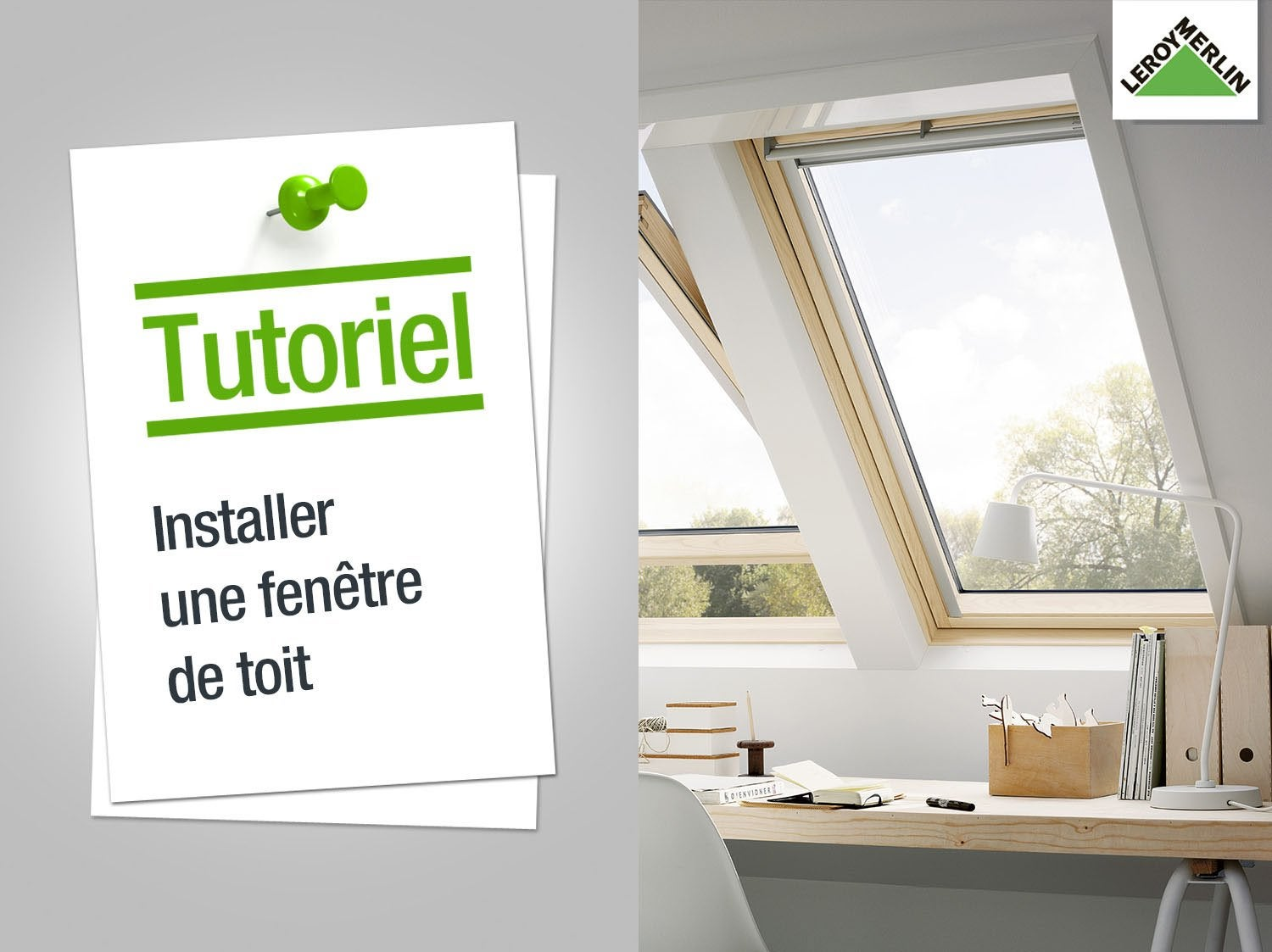 comment installer un volet roulant manuel velux. Black Bedroom Furniture Sets. Home Design Ideas