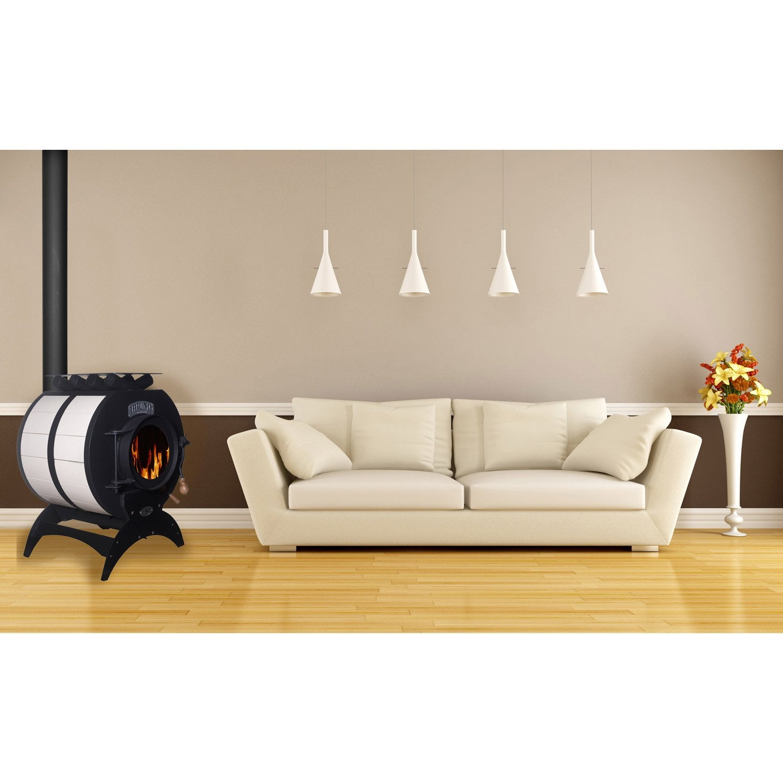 po le bois bruno mini c ramique ivoire leroy merlin. Black Bedroom Furniture Sets. Home Design Ideas