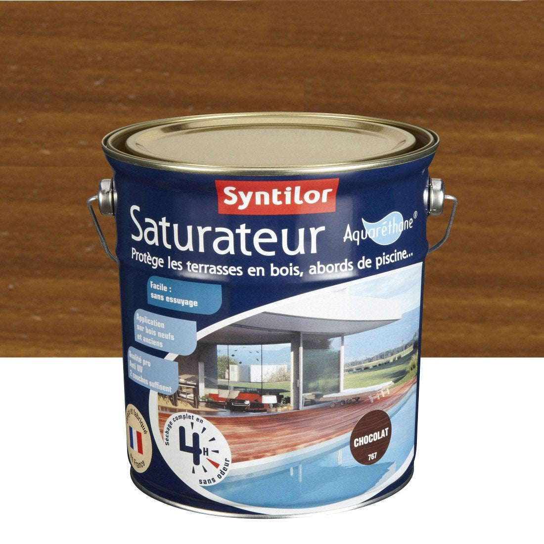 saturateur syntilor aqua 2 5 l incolore leroy merlin. Black Bedroom Furniture Sets. Home Design Ideas
