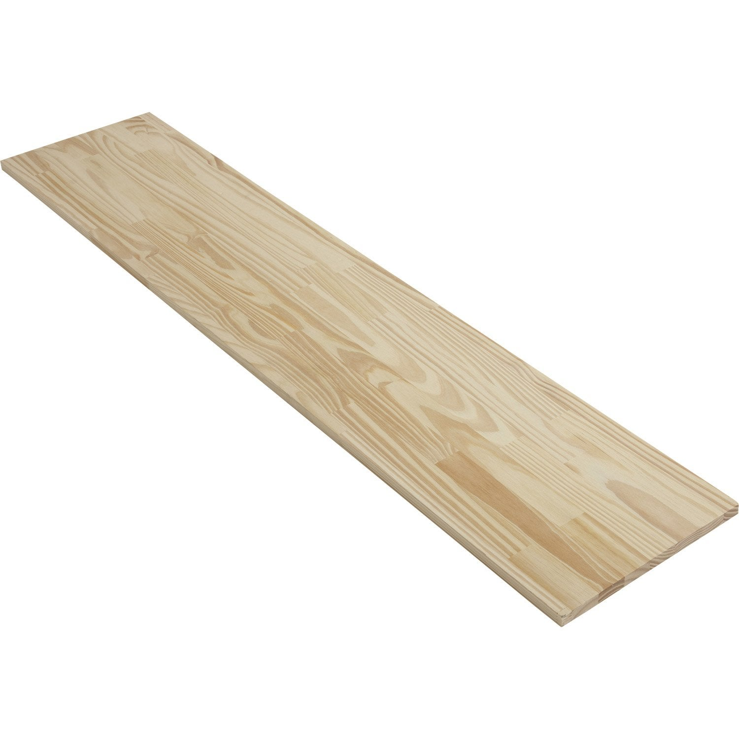 Tablette pin lamell coll solid x p leroy merlin - Leroy merlin planche bois ...