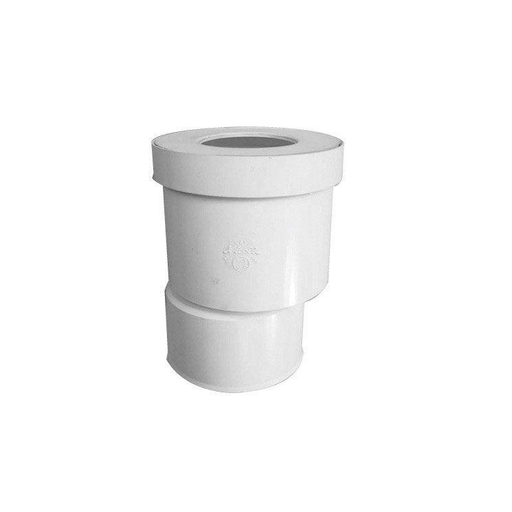 Sortie de cuvette wc excentr e diam 9 5 cm girpi leroy - Accessoires wc leroy merlin ...