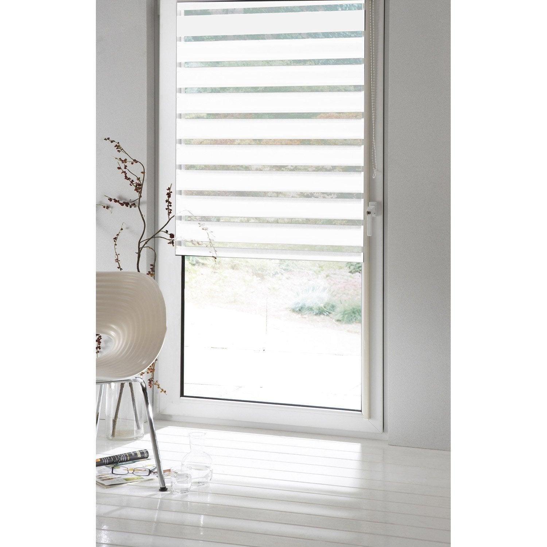 store enrouleur jour nuit inspire blanc blanc n 0 94 x. Black Bedroom Furniture Sets. Home Design Ideas
