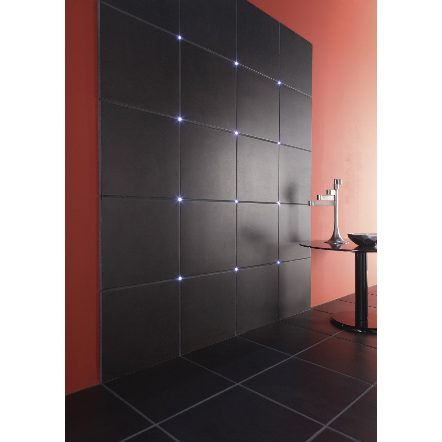 kit clairage de carrelage crosslight led 4 x w. Black Bedroom Furniture Sets. Home Design Ideas