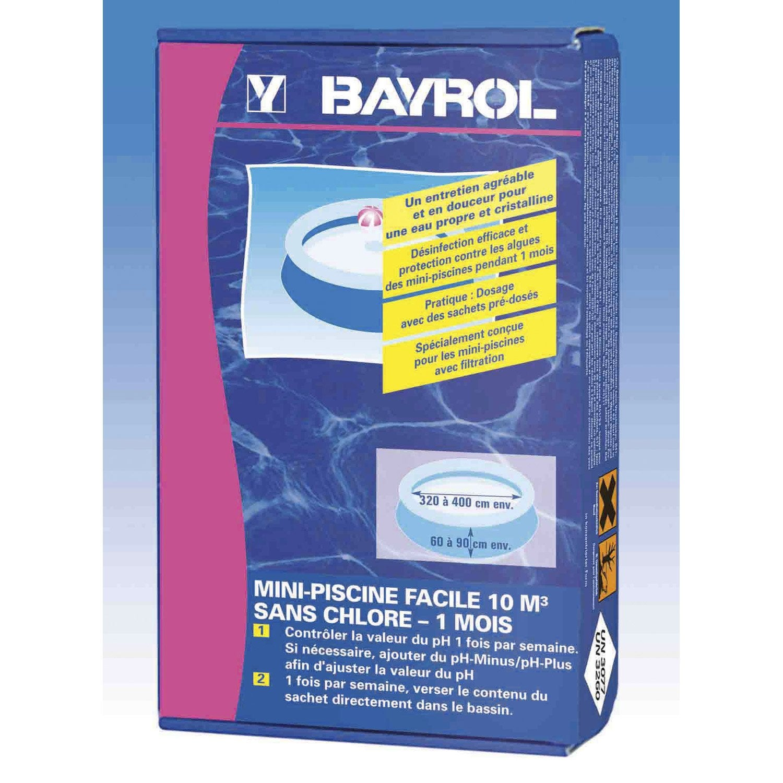 Oxyg ne actif pour mini piscine bayrol kg leroy merlin - Oxygene actif liquide pour piscine ...