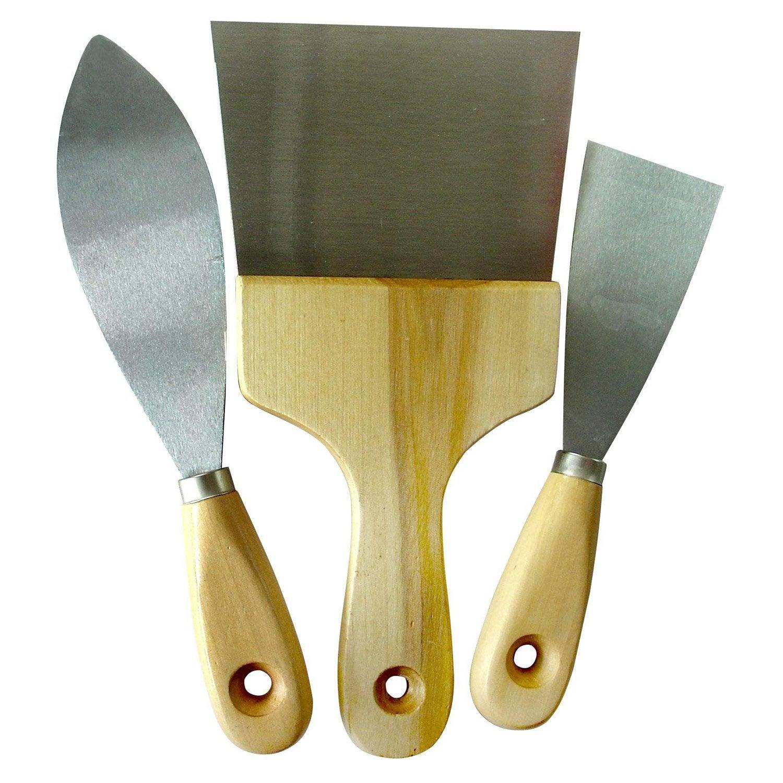 3 couteaux de tapissier enduire 10 cm leroy merlin for Panneau exterieur a enduire