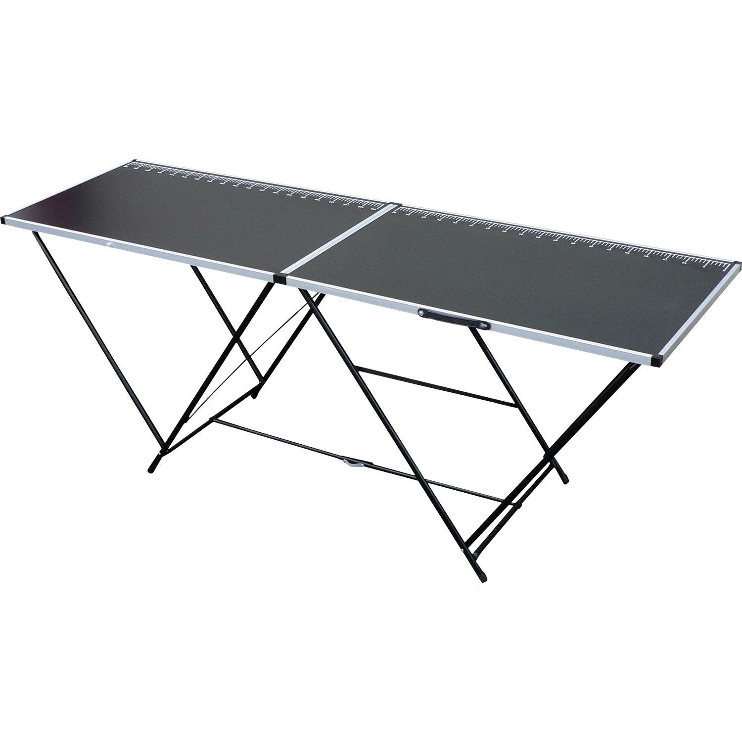 Table tapisser pliante en bois et aluminium 60 cm x 2 m - Table pliante leroy merlin ...