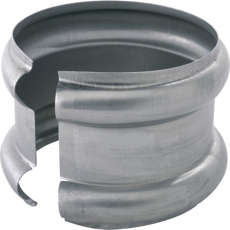 bague double extensible zinc gris scover plus mm leroy merlin. Black Bedroom Furniture Sets. Home Design Ideas