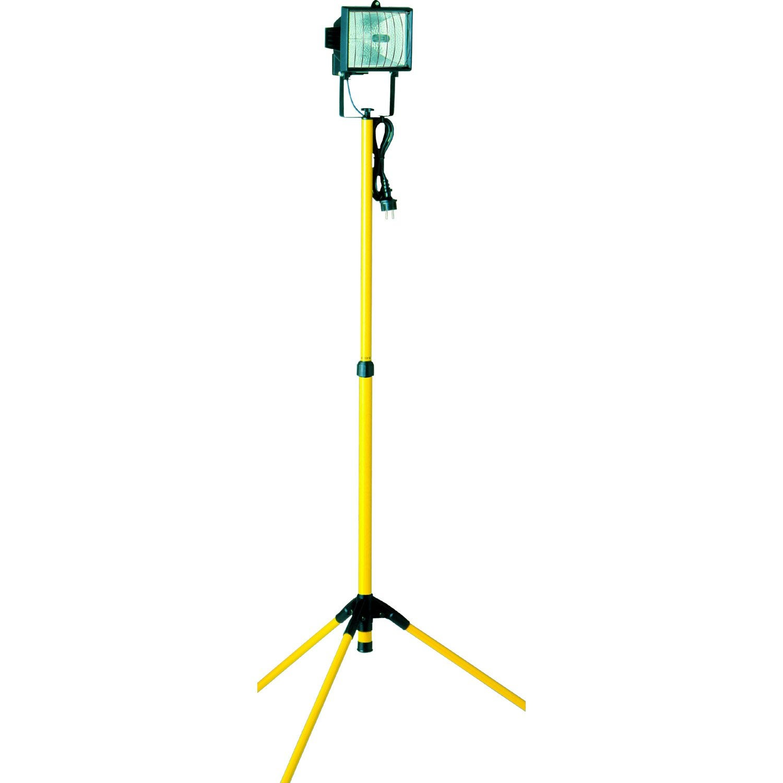 Projecteur tr pied halog ne co 1 x 400 w r7s jaune for Projecteur exterieur 500 watts