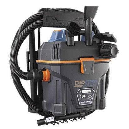 aspirateur eau et poussi res dexter wm1518rn 18 kpa 18 l leroy merlin. Black Bedroom Furniture Sets. Home Design Ideas